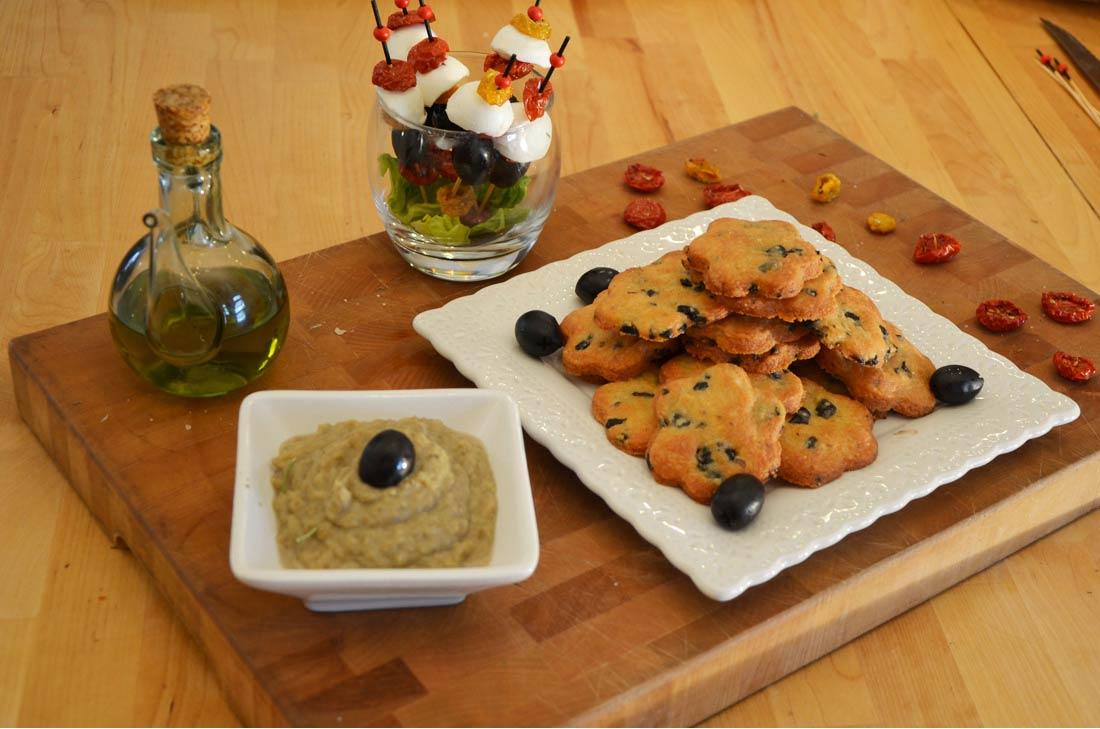 Super recette de sablés aux olives et au parmesan