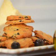 Sablés aux olives et au parmesan