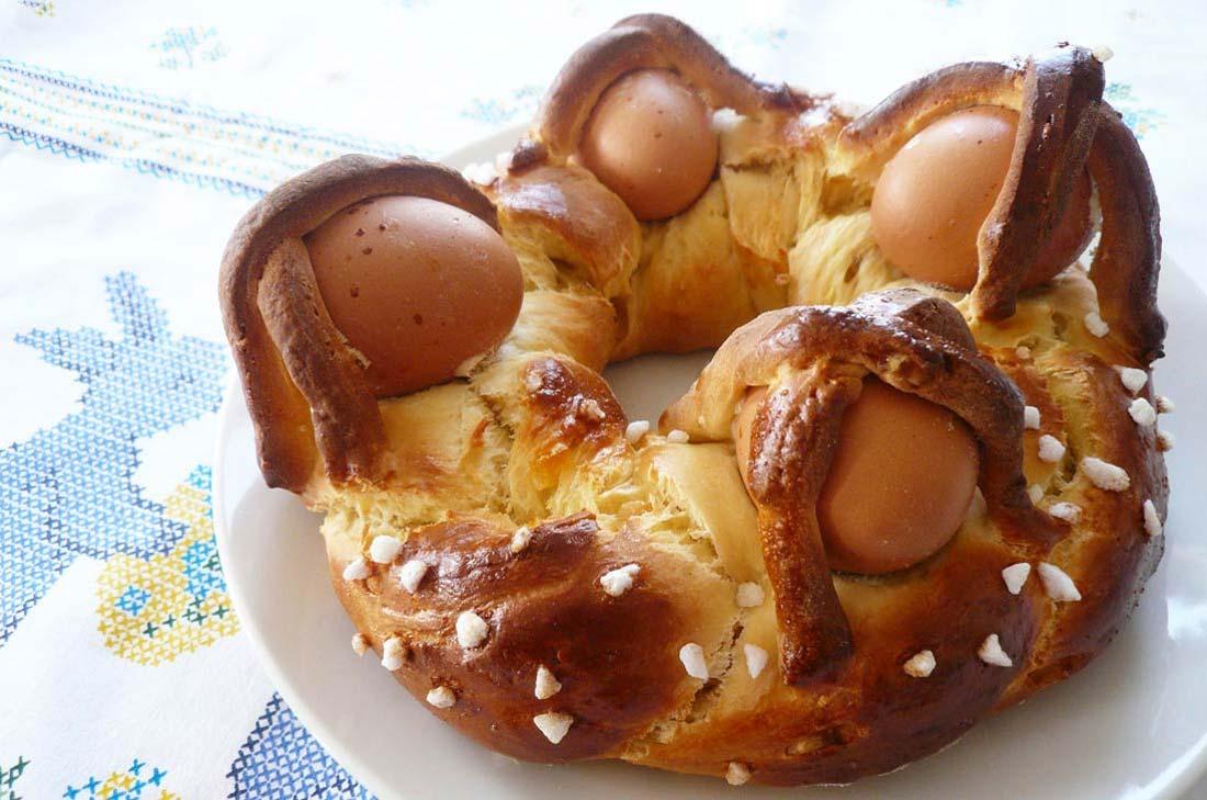 Recette de brioche de Pâques