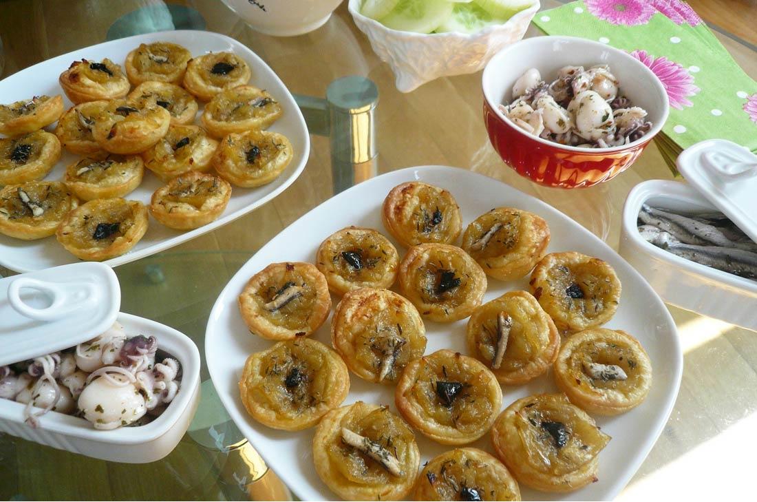 recette de mini pissaladière parfaite pour l'apéritif