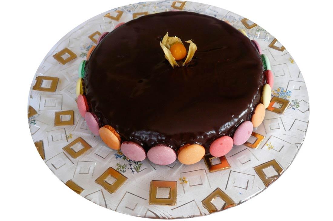 ma recette du Paradis noir, un gâteau tout chocolat