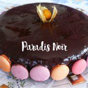gâteau Paradis noir