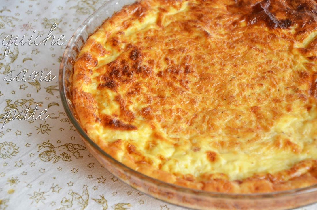 recette de quiche sans pâte légère et facile à faire