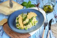 risotto aux asperges maison