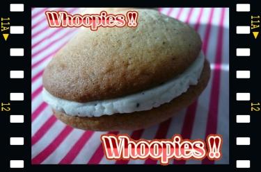 Whoopies à la vanille