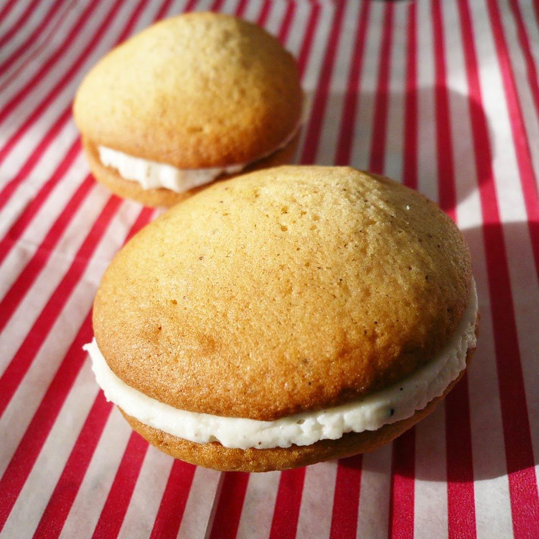 recette de Whoopies à la vanille