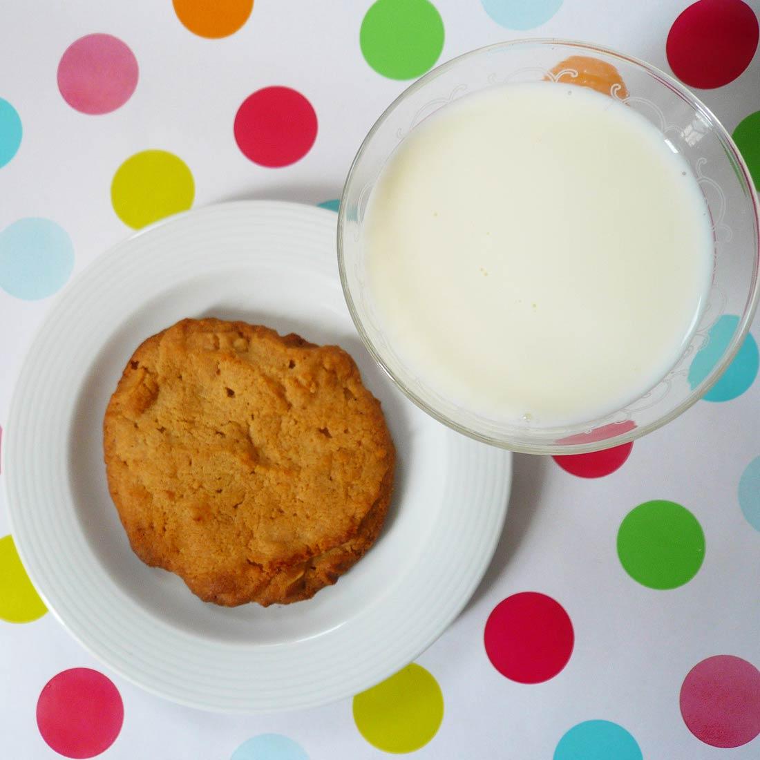 Ma super recette de cookies au beurre de cacahuètes