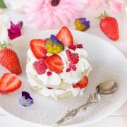 Sablés fraises framboises et lavande