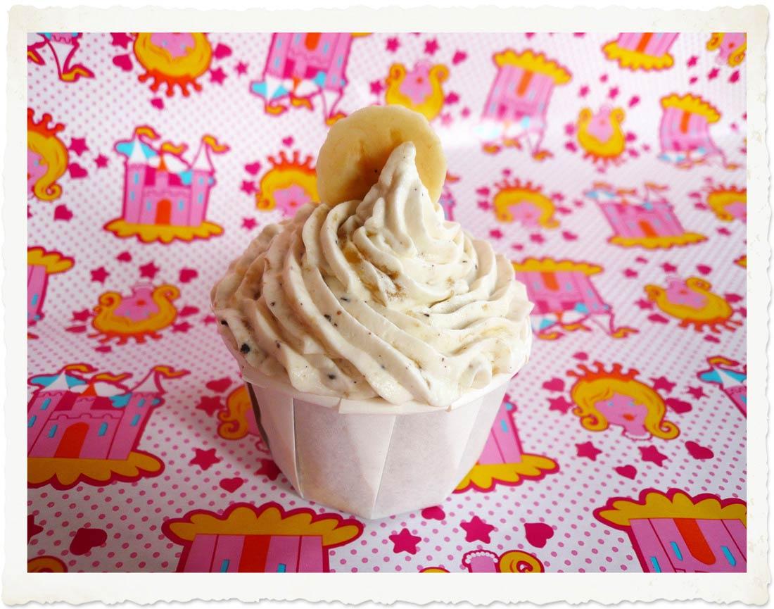Recette de banana cupcakes