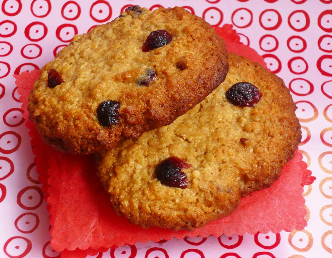 Recettes de cookies cranberries noix de pécan