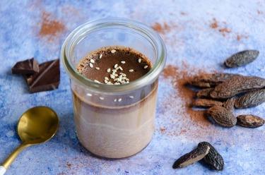 Crème au chocolat à la fève tonka