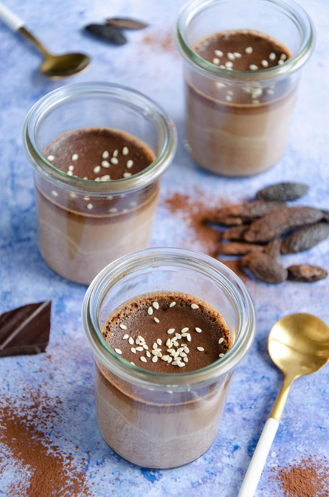 recette originale de crème au chocolat et à la fève tonka