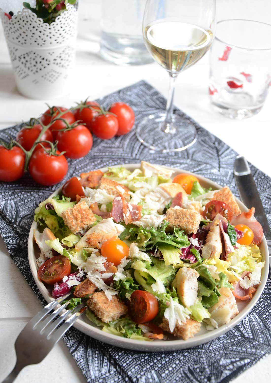 Ma recette de salade Caesar extravaganza