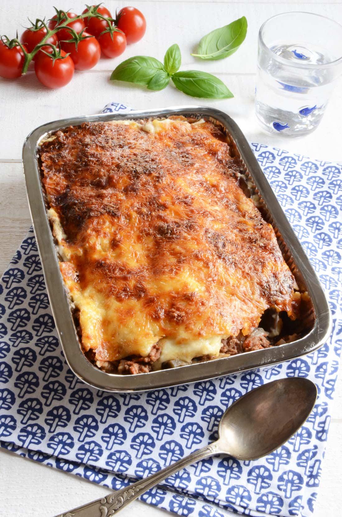 Vraie recette de moussaka traditionnelle