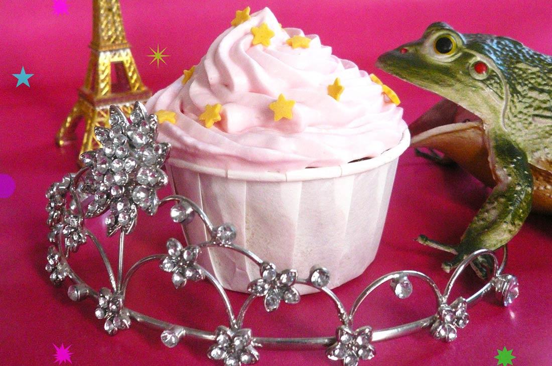 fairy cranberry cupcakes