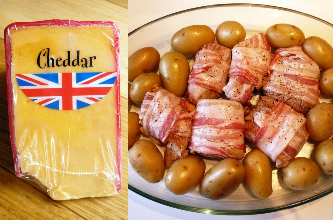 filet mignon de porc au cheddar