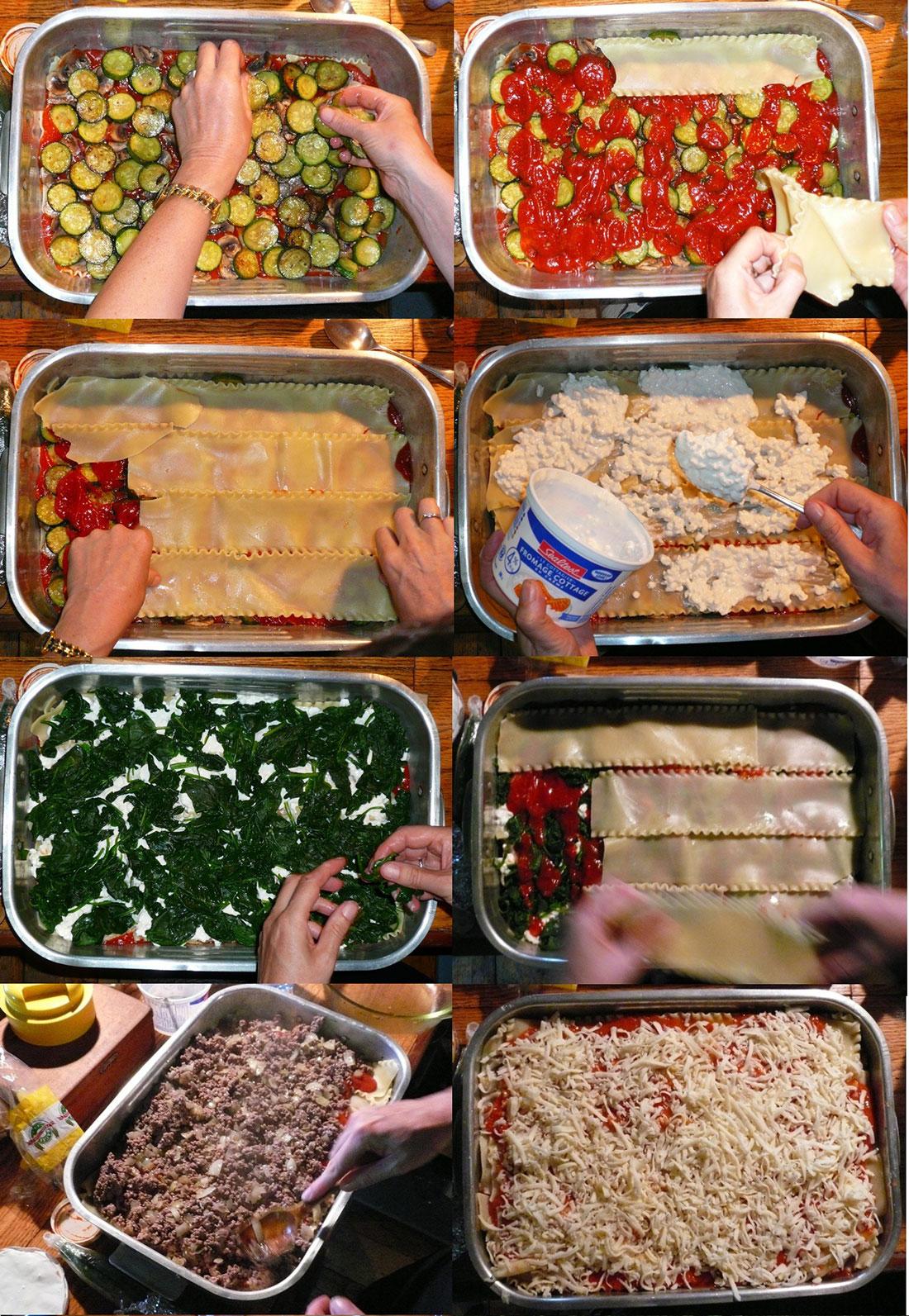 pas à pas recette de lasagnes