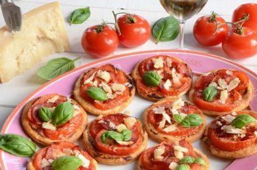 Tartelettes fines tomate chorizo