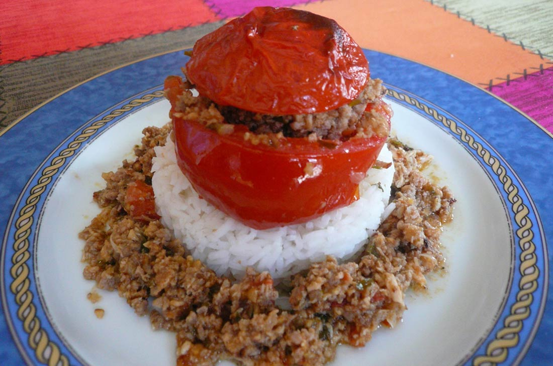 La recette de tomates farcies maison de ma maman