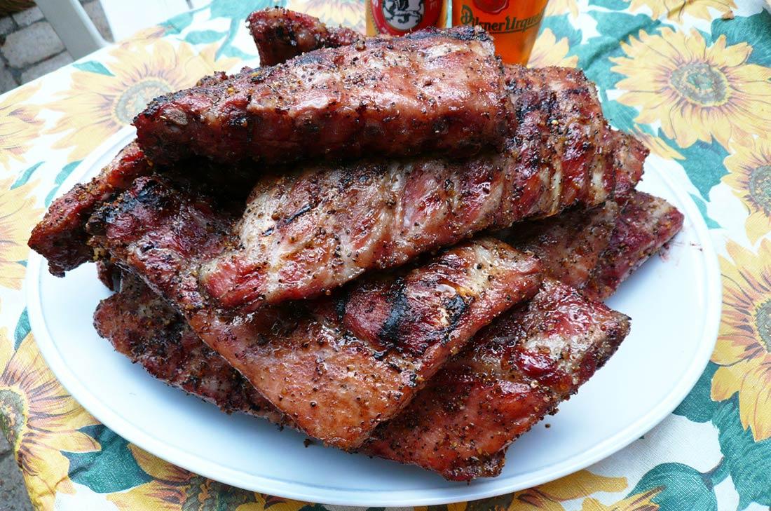 recette de côtes levées Kansas au barbecue