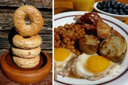 Oeufs au sirop d'érable pour mon petit déjeuner québécois