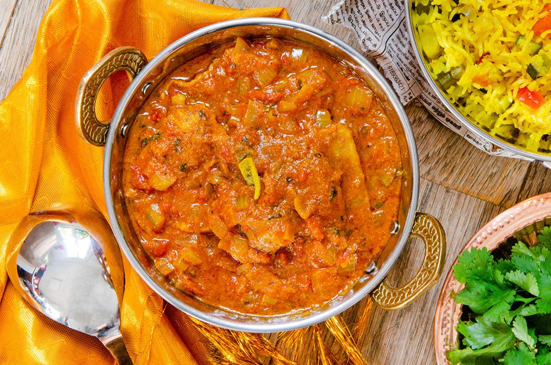 Recette de poulet sauce au beurre, plat indien
