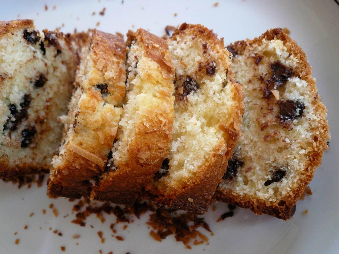 recette de cake choco coco