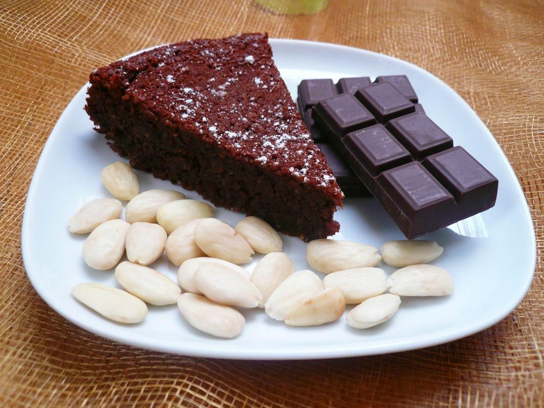 recette de Torta Caprese, un gâteau d'origine italienne par Alba Pezone