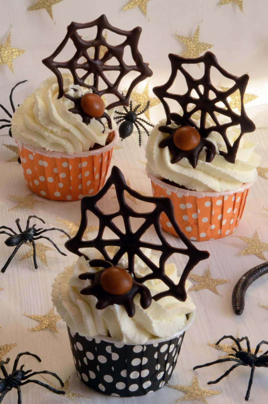 Cupcakes potiron pécan aux épices