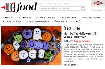 Turbigo-gourmandises Halloween sur Libé Food