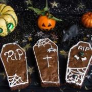 Brownies cercueil pour Halloween
