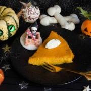 Clafoutis potiron pour Halloween