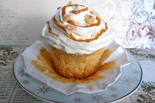 cupcake nutella noisettes comme un sundae
