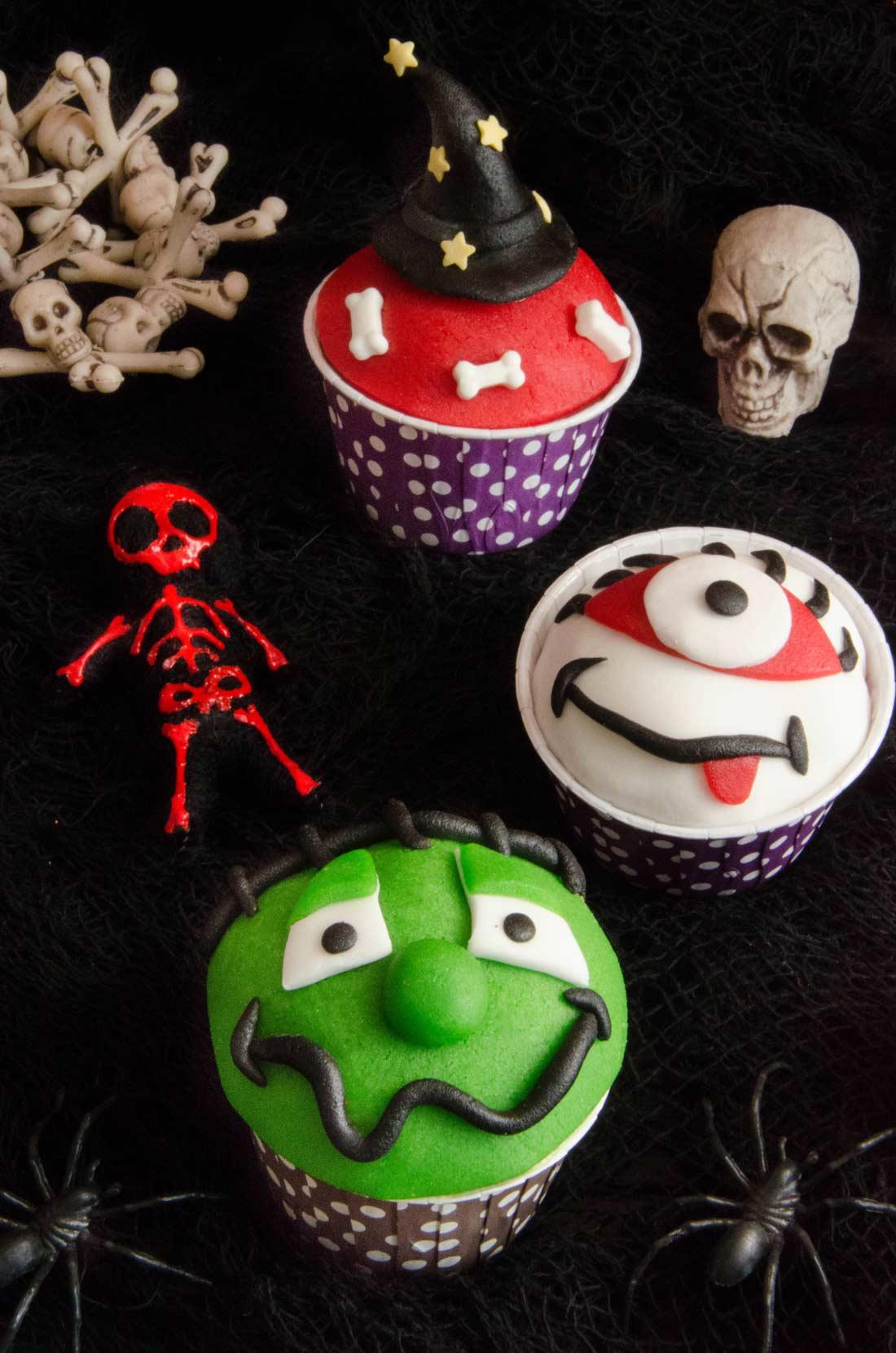 Cupcakes Halloween à l'orange maison
