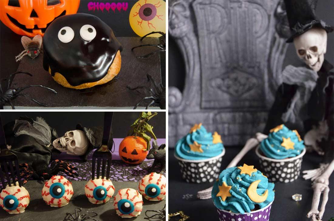 Récap desserts Halloween