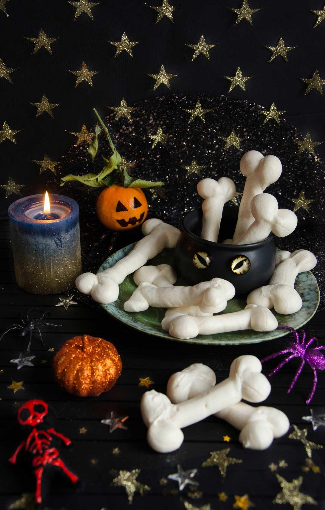os de sorcière pour Halloween
