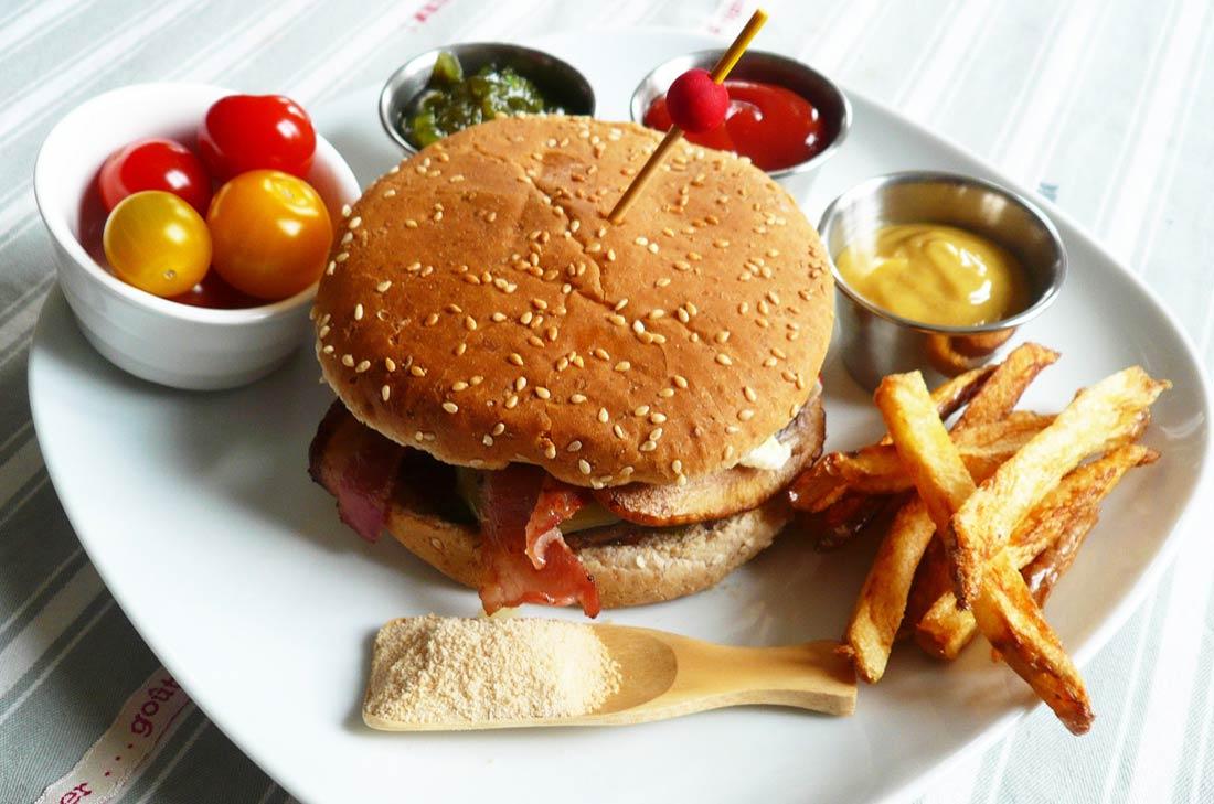 LE Hamburger fait maison de François from Québec