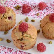 Moelleux framboises pistaches