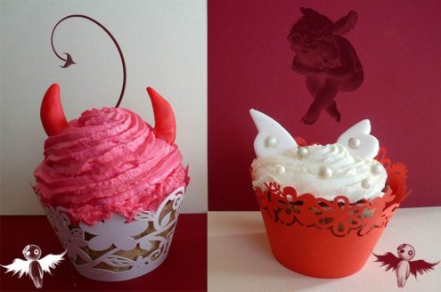 Red Velvet cupcakes anges ou démons