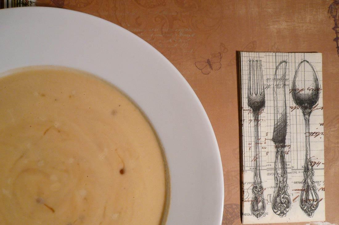 recette de velouté de rutabaga à l'érable