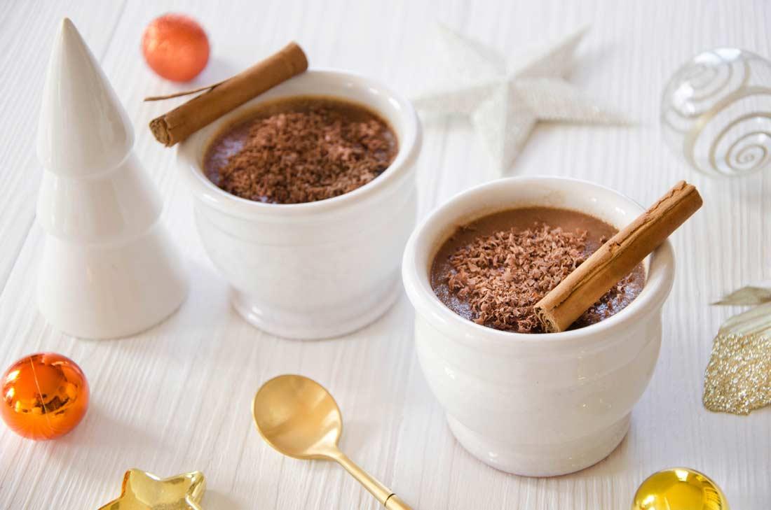 crème chocolat au lait cannelle