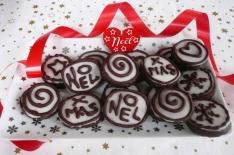 biscuits chocolat gingembre, un joli cadeau gourmand