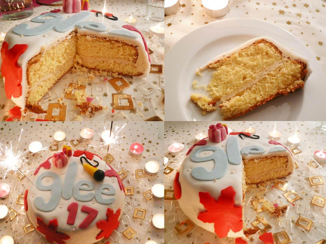 layer cake ou Gâteau à étage fourré au glaçage au sirop d'érable