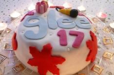 glee cake ou layer cake au sirop d'érable