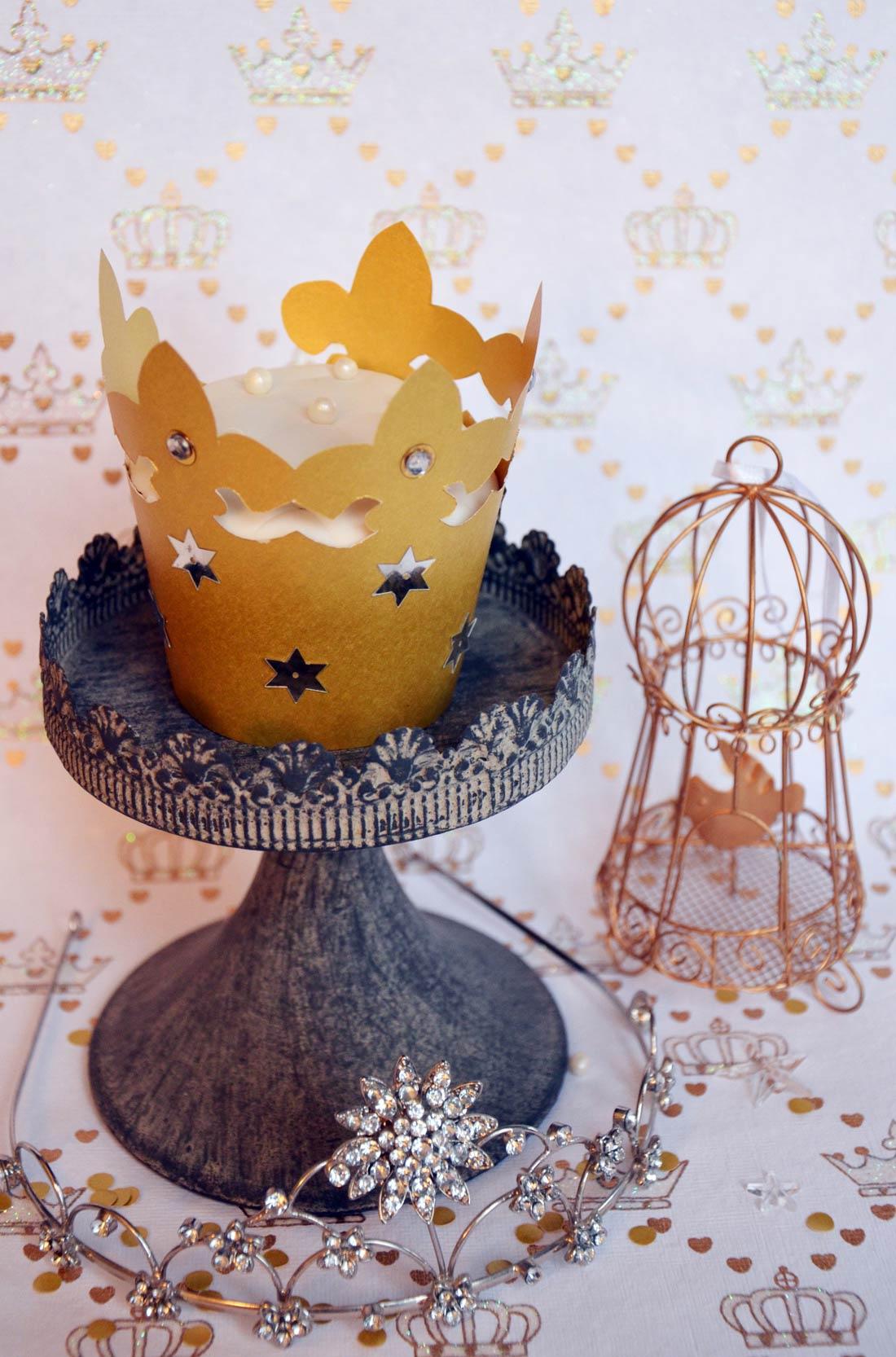 cupcakes des Rois pour l'Épiphanie