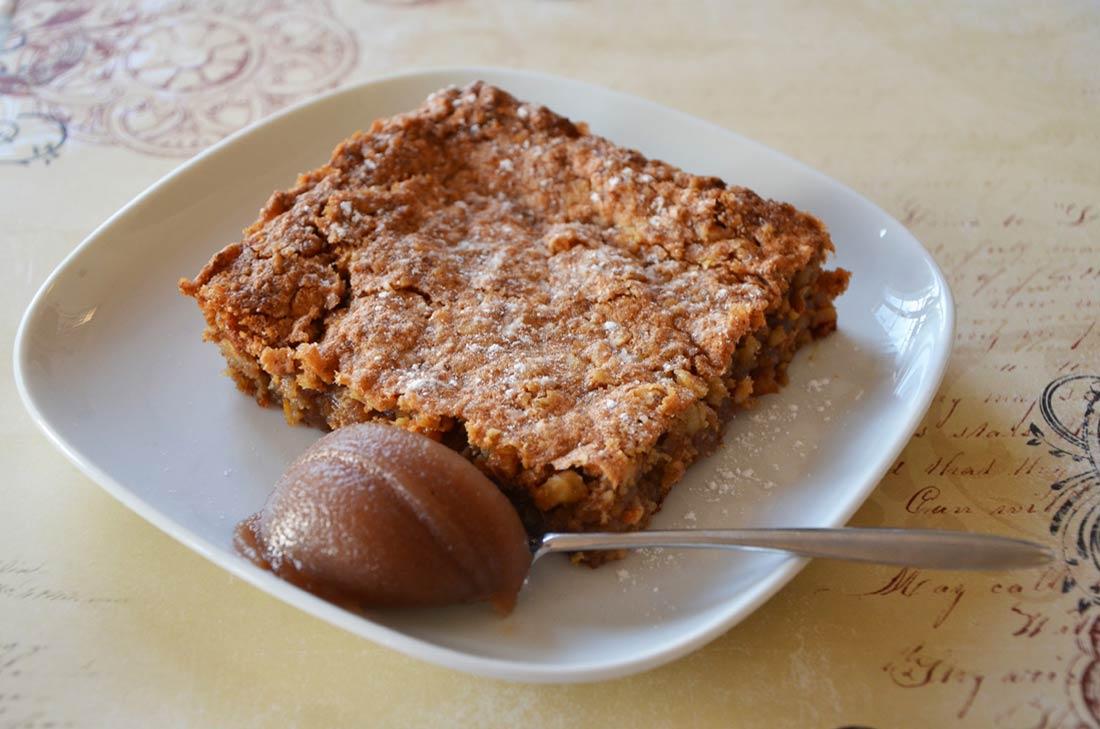 G teau fondant aux noix et la cr me de marrons - Gateau chocolat creme de marron ...