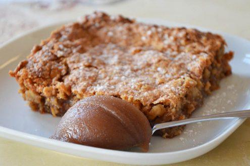 Recette de Gâteau fondant aux noix et à la crème de marrons