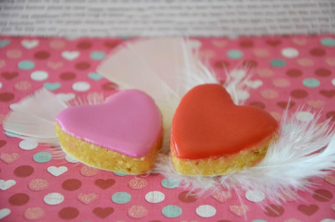 recette de calissons aphrodisiaques pour fêter la Saint Valentin entre amoureux