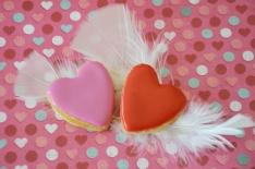 calissons rose gingembre pour la Saint-Valentin