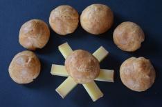 recette de gougères au comté maison